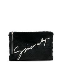 Cartera sobre de pelo negra de Givenchy