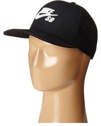 Casquette noire et blanche Nike
