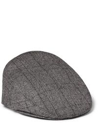 Casquette plate gris