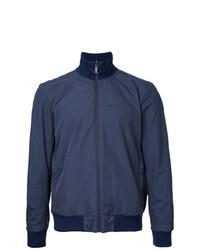 Cazadora de aviador azul marino de Kent & Curwen