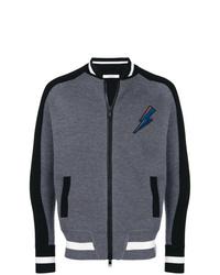 Cazadora de aviador en gris oscuro de Givenchy