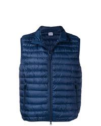 Chaleco de abrigo acolchado azul marino de Aspesi