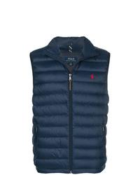 Chaleco de abrigo acolchado azul marino de Polo Ralph Lauren