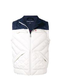 Chaleco de abrigo acolchado blanco de Perfect Moment