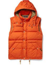 Chaleco de abrigo acolchado naranja de Polo Ralph Lauren