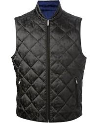 Chaleco de abrigo acolchado negro
