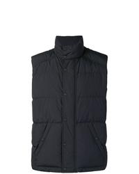 Chaleco de abrigo acolchado negro de Belstaff