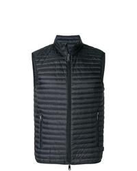 Chaleco de abrigo acolchado negro de Emporio Armani