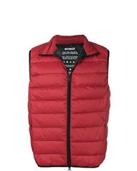 Chaleco de abrigo acolchado rojo de ECOALF