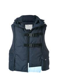 Chaleco de abrigo azul marino de A-Cold-Wall*