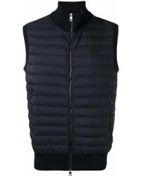 Chaleco de abrigo azul marino de Moncler