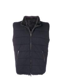 Chaleco de abrigo azul marino de N.Peal