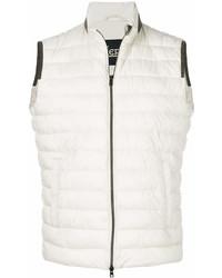 Chaleco de abrigo blanco de Herno