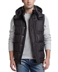 Chaleco de abrigo negro de UGG Australia