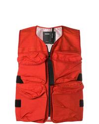 Chaleco de abrigo rojo de Nemen