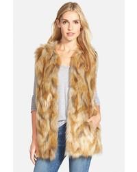 Comprar una ropa de abrigo de pelo marrón claro de Nordstrom  elegir ... c7b51d47d951