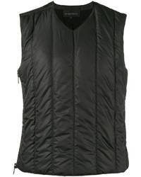 Chaleco de vestir acolchado negro