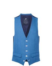 Chaleco de vestir azul de Loveless