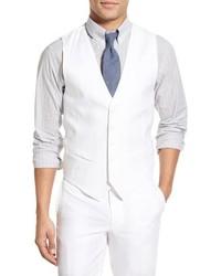 Chaleco de vestir blanco