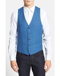 Chaleco de vestir de lana azul de Moods of Norway