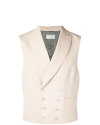 Chaleco de vestir en beige de Brunello Cucinelli