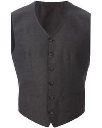 Chaleco de vestir en gris oscuro