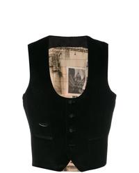 Chaleco de vestir negro de Al Duca D'Aosta 1902