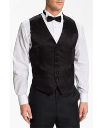 Chaleco de Vestir Negro de David Donahue