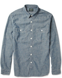 Chambray long sleeve shirt original 363960