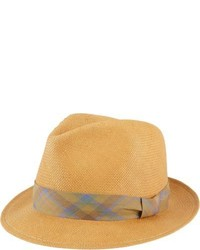 Chapeau de paille marron clair Rag and Bone