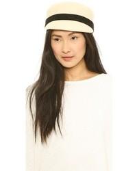 Chapeau en laine beige Kate Spade