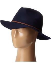 Chapeau en laine bleu marine Brixton