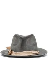 Chapeau en laine gris Forte Forte