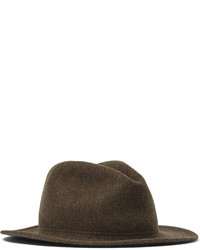 Chapeau en laine marron Lock & Co Hatters