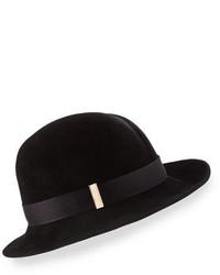 Chapeau en laine noir Nell