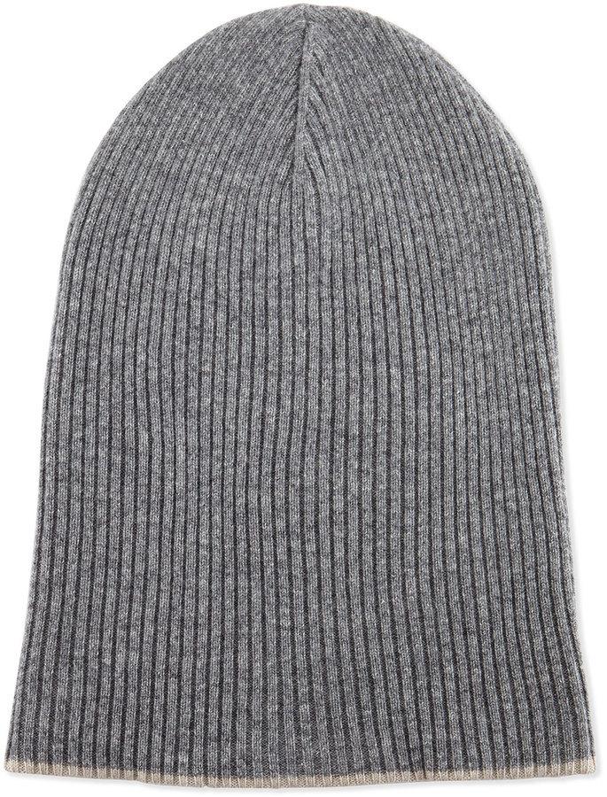 Chapeau gris Brunello Cucinelli