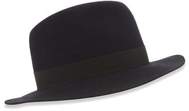 Chapeau noir Loro Piana