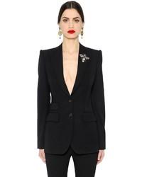 Mujeres Moda amp; Para Comprar Ropa De Una Negra Dolce Abrigo Gabbana 8SUv7SpqW