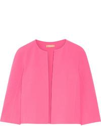 Chaqueta de lana rosa de Michael Kors