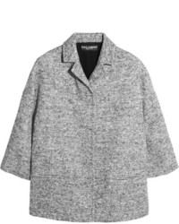 Chaqueta de tweed gris de Dolce & Gabbana