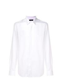 Chaqueta estilo camisa blanca de Diesel
