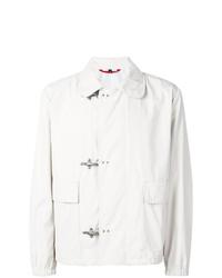 Chaqueta estilo camisa blanca de Fay