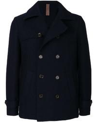 Chaqueta estilo camisa de lana azul marino de Eleventy