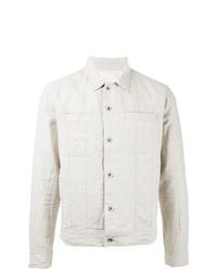 Chaqueta estilo camisa de lino blanca de Venroy
