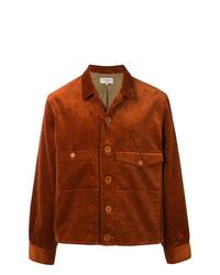 Chaqueta estilo camisa en tabaco de YMC
