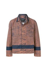 Chaqueta estilo camisa marrón de Craig Green