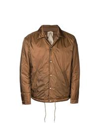 Chaqueta estilo camisa marrón de Ten C