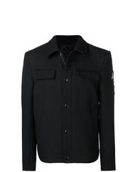 Chaqueta estilo camisa negra de Alexander McQueen