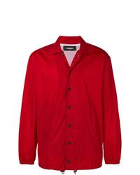 Chaqueta estilo camisa roja de DSQUARED2