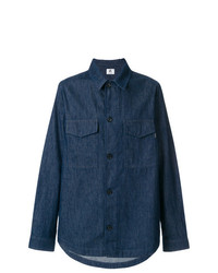 Chaqueta estilo camisa vaquera azul marino de Ps By Paul Smith